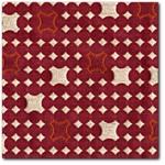 Carnegie Whirlybird Modern Retro Upholstery Fabric