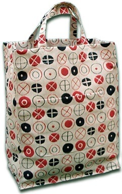 Maharam Gift/Tote bag in Classic Mid-Century Modern Eames Circles fabric!