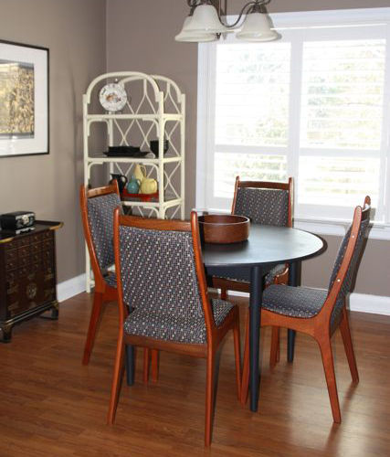 Mid Century Modern  Dining Chairs Project