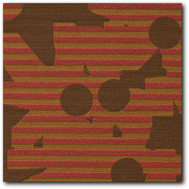 Maharam Contrary Carmine Modern Upholstery Fabric - Close Up