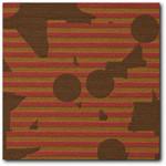 Maharam Contrary Carmine Mid Century Modern Upholstery Fabric