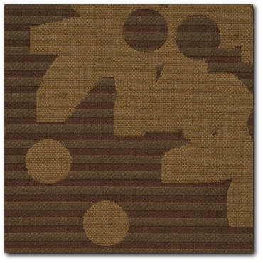 Maharam Contrary Ginger Modern Upholstery Fabric - Close Up