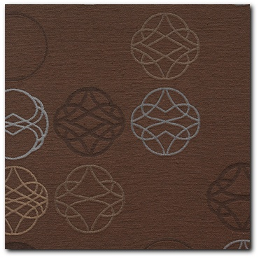 Maharam Fasten Cocoa Modern Retro Upholstery Fabric - Medium View
