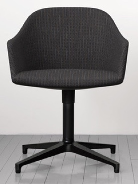 Maharam Pick Jet Modern Upholstery Fabric - Chair