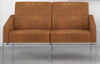 Maharam Urban Cedar Crypton Modern Upholstery Fabric - In Use
