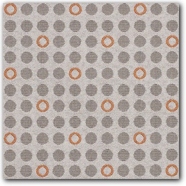 Momentum Knack Filament Modern Retro Upholstery Fabric - Close Up